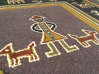 こういう絨毯は